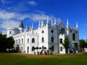 Strawberry Hill from the south.