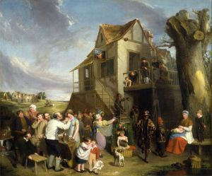May Day by William Collins, Wikimedia.