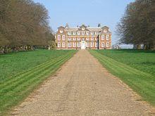 Raynham Hall, seat of Charles Townsend. Image via Wikimedia.