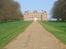 Raynham Hall, seat of Charles Townsend. Image via Wikimedia.