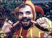 Mr Claypole from Children's TV Series Rent-a-ghost.
