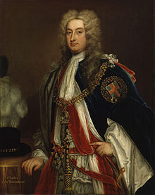 Charles Townsend, 2nd Viscount Townsend by Godfrey Kneller.