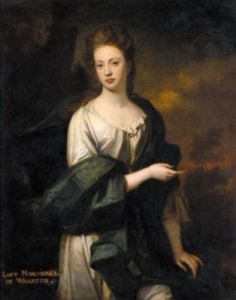 Lady Lucy Wharton by Godfrey Kneller. Private Collection.