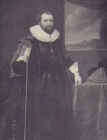 Lionel Cranfield, 1st Earl of Middlesex. Image via Wikimedia.