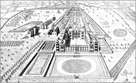 Copped Hall in the time of Thomas Heneage. Image from the Copped Hall Trust.