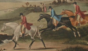 Foxhunting. Image via George Glazer Gallery.