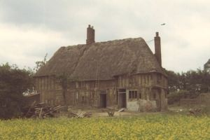 Example of a 13th Century timber framed hall. Landmark Trust.