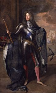 James II of England, by Godfrey Kneller. Source Wikipedia.