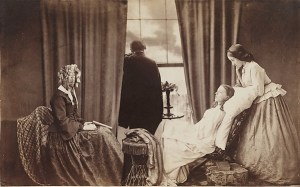 'Fading Away' by Henry Peach Robinson, 1858. The Royal Photographic Society at the National Media Museum.