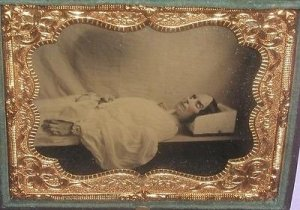 Post Mortem Daguerreotype. 1862. Source Astronomy Pictures.