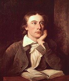 John Keats by William Hilton. National Portrait Gallery.