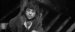 Oliver Reed as Sykes in Oliver! 1968. Dir. Carol Reed.