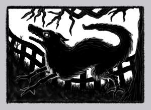 Black Shuck by Rohan Hall