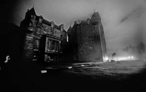 Castle Menzies by Philip G Horey