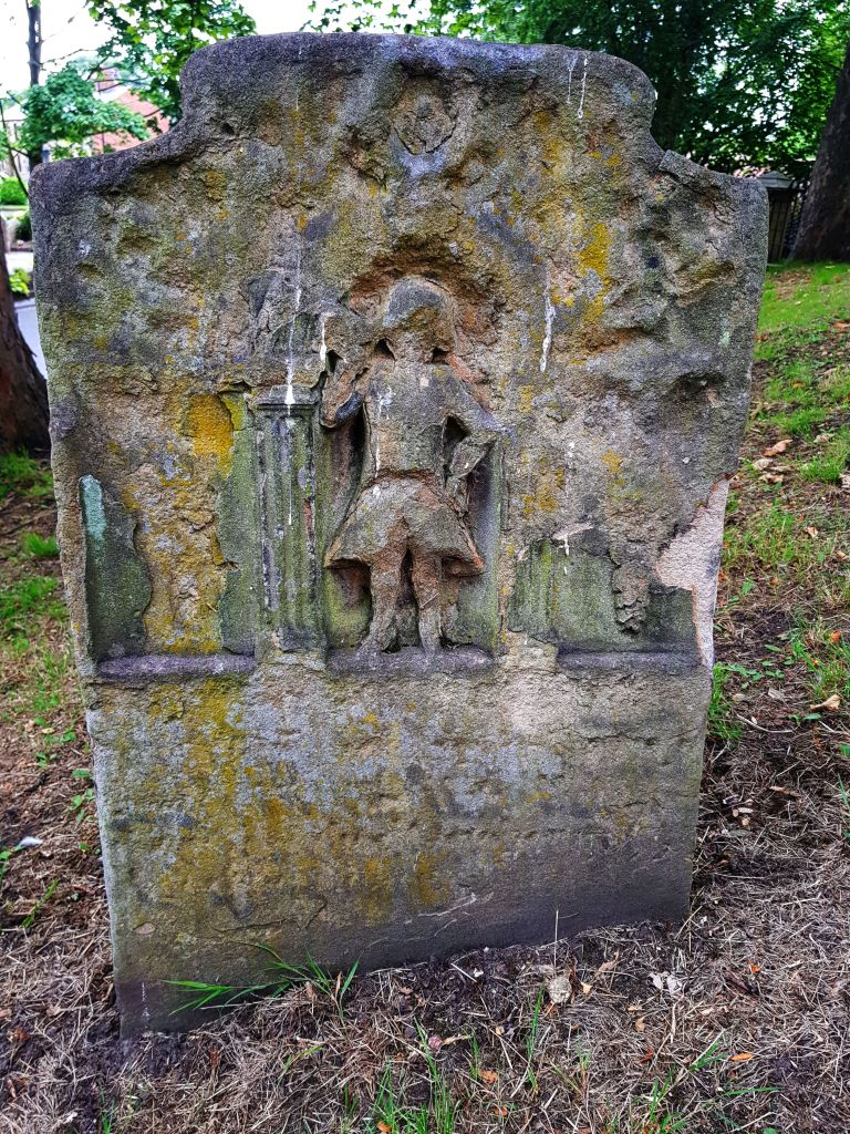 A Roman tombstone in Washington, Tyne and Wear.