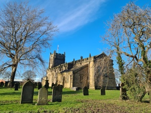 St Peter's church, Wallsend.